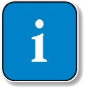 Clip art image of a I for information